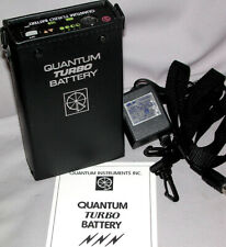 QUANTUM INSTRUMENTS RE-CELLED TURBO BATTERY + CHARGER - L@@K!