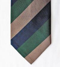 Littlewoods old British tie Vintage 1980s Diagonal stripe