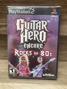 Guitar Hero Encore: Rock The 80s PS2 (PlayStation 2 Game) NEW - SEALED