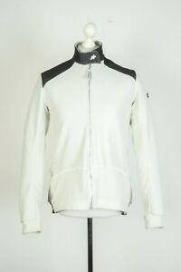 Mens Assos Cycling White Racing Airblock 851 Jersey Longsleeve Jacket Size XL