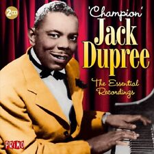 CHAMPION JACK DUPREE - ESSENTIAL RECORDINGS  2 CD NEU