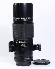 CANON FD MACRO LENS 200mm / 1:4 - 4.0/200mm, newFD, mit 1 Jahr Gewährleistung