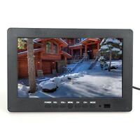 7 Inch HD TFT LCD Screen Monitor 1024*600 VGA BNC Video Audio For PC,CCTV Cam