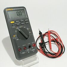 Fluke 87 V 87v With Leads Digital Industrial Multimeter Bundle