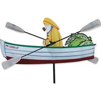 """Fisherman Staked Wind 18"""" Whirligig Wind Spinner..14..... PR 21868"""
