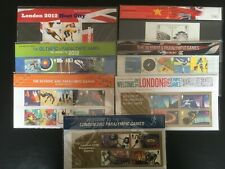 London 2012 Olympics and Paralympics - Seven Royal Mail Presentation Packs