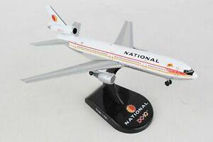 Postage Stamp 58202 National DC-10 'Phyllis' 1/400 Scale Diecast Model