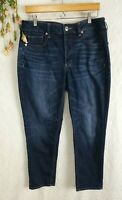 American Eagle Jeans Size 10 Short Tomgirl dark wash womens