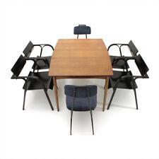 Tavolo allungabile in teak anni '60, dining table vintage, 60s, italian design