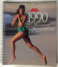 Sports Illustrated 1990 25th Swimsuit Anniversary Diary EXCELLENT RARE 55 photos