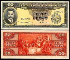PHILIPPINES 50 PESOS 1949 P138c UNCIRCULATED
