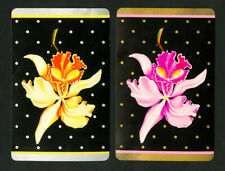 Art Deco Orchids Playing Cards VF 1932