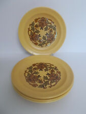 4 x Vintage Royal Worcester Palissy Side Plates Harmony Floral 17.3cm Lovely