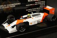 1:43 MINICHAMPS 436880012 McLaren Honda MP4/4 World Champion A.Senna 1988 #12