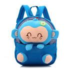 New Baby Kids Boy Girl Children Cartoon Monkey Backpack Shoulder Bag School