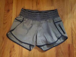 lululemon size 10 tracker shorts running