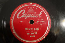 "Roy Hogsed, Cocaine Blues / Fishtail Boogie, Capitol 40120, 1948, 10"" 78 RPM"
