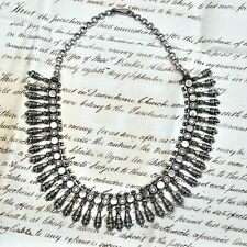 An antique Rajastani sterling silver choker / collar necklace