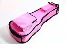 26 in (environ 66.04 cm) Rose Ukulélé 10 mm Sac Rembourré Deluxe Carry Case Pro Tenor Concert Grand