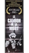 Affiche 60x160cm LE CAMION DE LA MORT /BATTLETRUCK 1983 Michael Beck EC