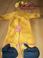 Infant Size 0-6 Months Brown Monkey Halloween Costume Rubie's EUC