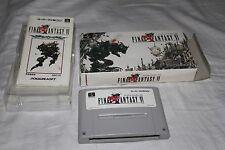 Final Fantasy VI (Japanese Super Famicom Import! Nintendo SNES, 1994 Squaresoft)