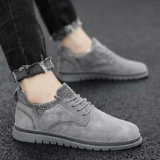 Mens Round Toe Walking Sports Breathable Casual Low Top Leisure Business Shoes