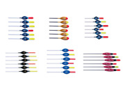 Rizov - Hand made FISHING DIBBER POLE FLOATS - Various sizes and models in box