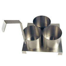 """Paragon Fryer Accessory - 4.5"""" Funnel Cake Mold Ring with Base.  #4025"""