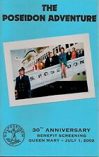 The Poseidon Adventure RMS Queen Mary 30th Anniv Screening Program 2002 Book A