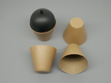 """10pc 3"""" Fireworks Hobby Craft Pyro Paper Lift Cups For Ball Shells Mortars"""
