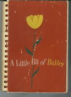 SA-030 A Little Bit of Butter Cookbook, 1950's Georgetown Girls preparatory Scho