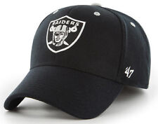 a8f6afd02eff1f OAKLAND RAIDERS NFL BLACK STRETCH FIT CONTENDER DAD CAP HAT NEW '47 BRAND  OSS