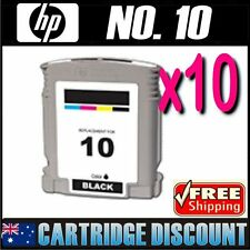 10x Black Ink for HP 10 C4844A Business 2600 2600TN 2600DTN 2800 2800dtn