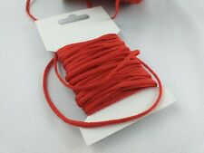 5 /10 /20 Meters Soft Round Elastic Cord Tape 3mm; Face Masks Protection Sewing