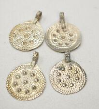 Beads Middle Eastern Kuchi Silver Round Pendants 40mm