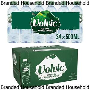 24 x VOLVIC NATURAL MINERAL BOTTLED WATER 50CL 500ML