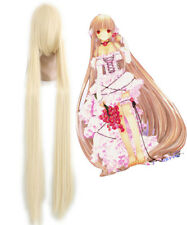 Chobits-Chii Cosplay LOng Beige Straight Women's Lolita Party Synthetic Hair Wig