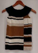 Camisas y tops de mujer de color principal marrón de seda