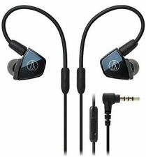 Audio-Technica ATH-LS400iS In-Ear Quad Armature Driver Headphones with In-Line M