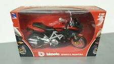 BIMOTA Mantra 1/12th Diecast Model Motorcycle Red