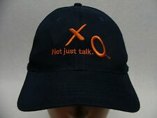 XO COMMUNICATIONS - NOT JUST TALK - ADJUSTABLE BALL CAP HAT!