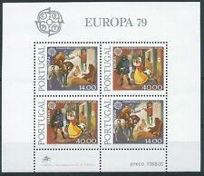 1979 EUROPA PORTOGALLO FOGLIETTO MNH ** - EV