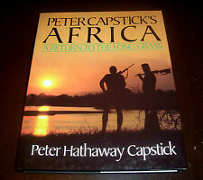 PETER CAPSTICK'S AFRICA Return to the Long Grass African Safari Hunitng Book NEW