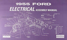 1955 Ford Car Electrical wiring Assembly Manual Wiring Diagrams Schematics 55