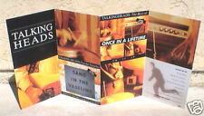 """THE TALKING HEADS """"BEST"""" LARGE U.K. STAND-UP DISPLAY"""