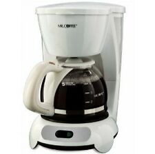 Mr. Coffee TF6 5 Cups Coffee Maker - White