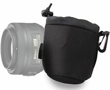 Small Lens Pouch Case in Soft Neoprene for Samyang 7.5mm/8mm/85mm Lenses