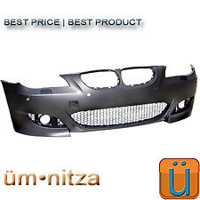 BMW E60 E61 M5 M5tech 5-series Front Bumper Sedan Wagon NO PDC FOG LIGHTS XENON