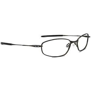 Oakley Eyeglasses OX3107-0255 Whisker 6B Pewter Oval Metal Frame 55[]18 132